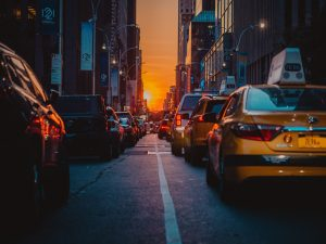 In big cities, you will have to deal with thousands of cars running through the streets.