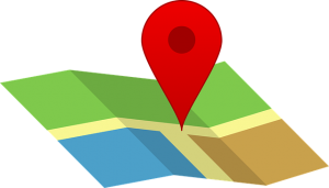 A google map icon