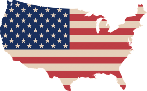 The USA map.