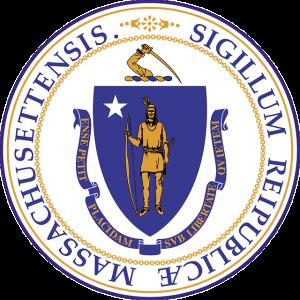 Massachusetts sign.