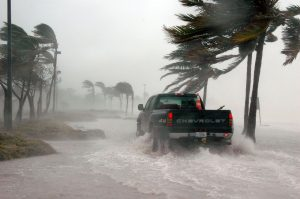 A storm, which is one of the downsides of moving to Miramar.