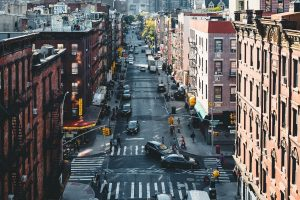 A street in NYC.