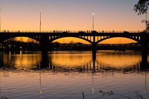 A bridge in Austin, TX.