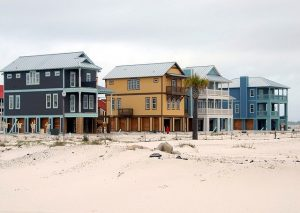 Beach houses in one of the best places to live in Manatee County.