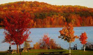 Pennsylvania autumn landscape