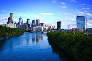 River in the city of Philadelphia.