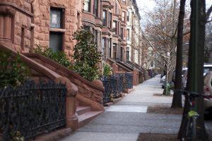 A street in Brooklyn.