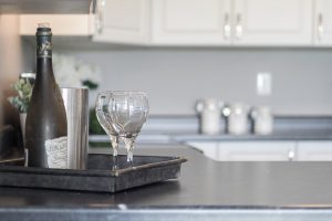 A kitchen, home staging.