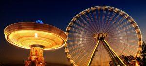 A fairground