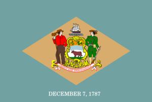 Delaware flag.