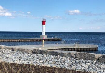 A lighthouse.