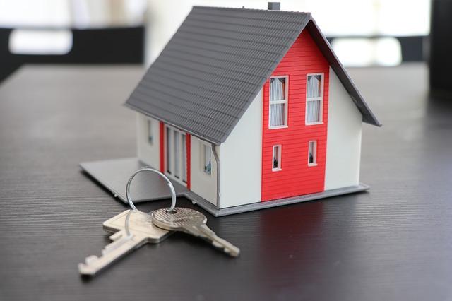 A house keyring