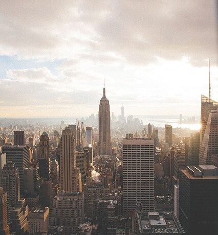 A view of NYC.