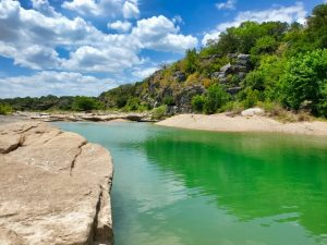Pedernales Falls State Park, Texas during a nice weather