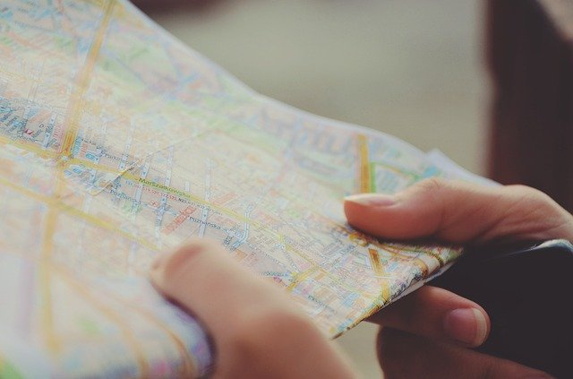 Map - Make sure to have it when searching for West Coast places everybody should know of.