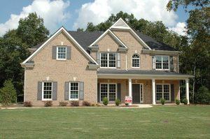 A house exterior.