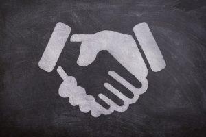 Agree Negotiating Handshake