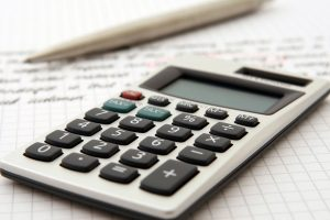 A calculator to set the costs for moving from New York to Switzerland.